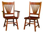 Amish Mission Fantail Chairs (0732-19)