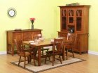 Fantail Mission Amish Dining Room Table (1062-19)