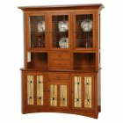 Amish Wolf Hollow Hutch (0284-60)