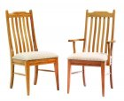 Mission Grandeur 5 Slot Amish Chairs (0160-14)