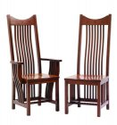 Alternate View of Classic Mission Amish Dining Room Chairs