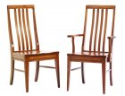 Alternate View of Amish Newport Shaker Flat Top Chairs