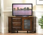 Alternate View of Amish Arlington Corner TV Stand
