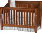Jackson Raised Panel Conversion Crib (1103-75)